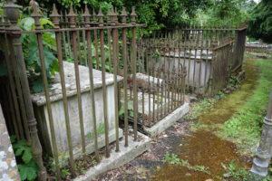 Graves of Nelson's Admirals, St John's Church, Bishopsteignton