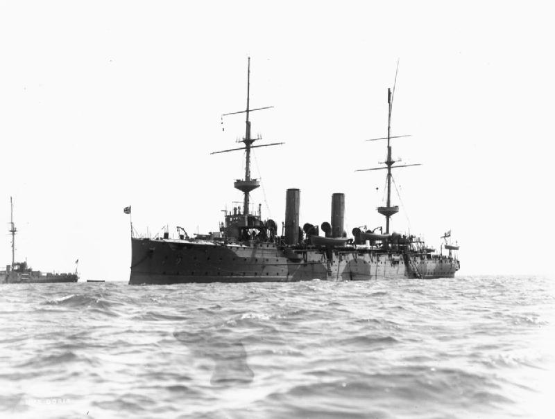 HMS DORIS AT THE TIME OF THE GREAT WAR