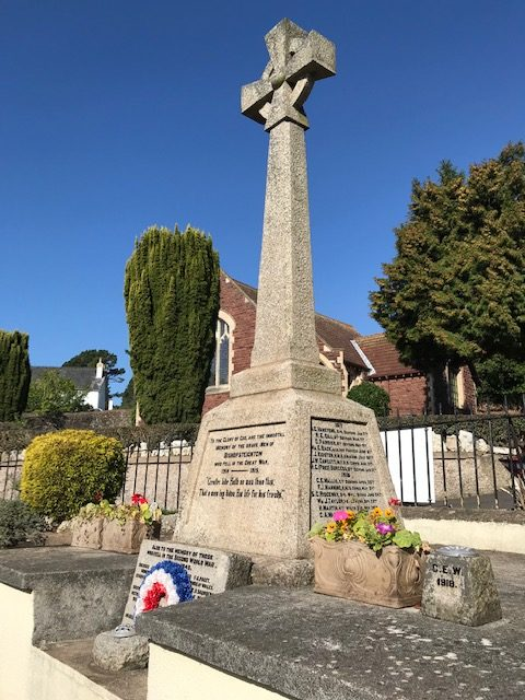 War Memorial Bishopsteignton
