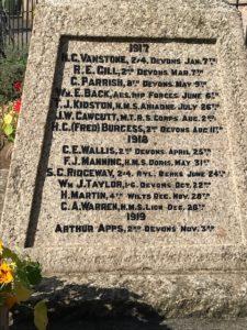 Memorial Names1917-19