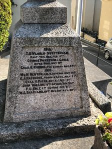 Bishopsteignton Memorial 15/16 Names