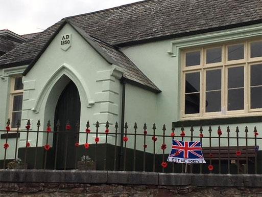 Poppies Community Centre Bishopsteignton