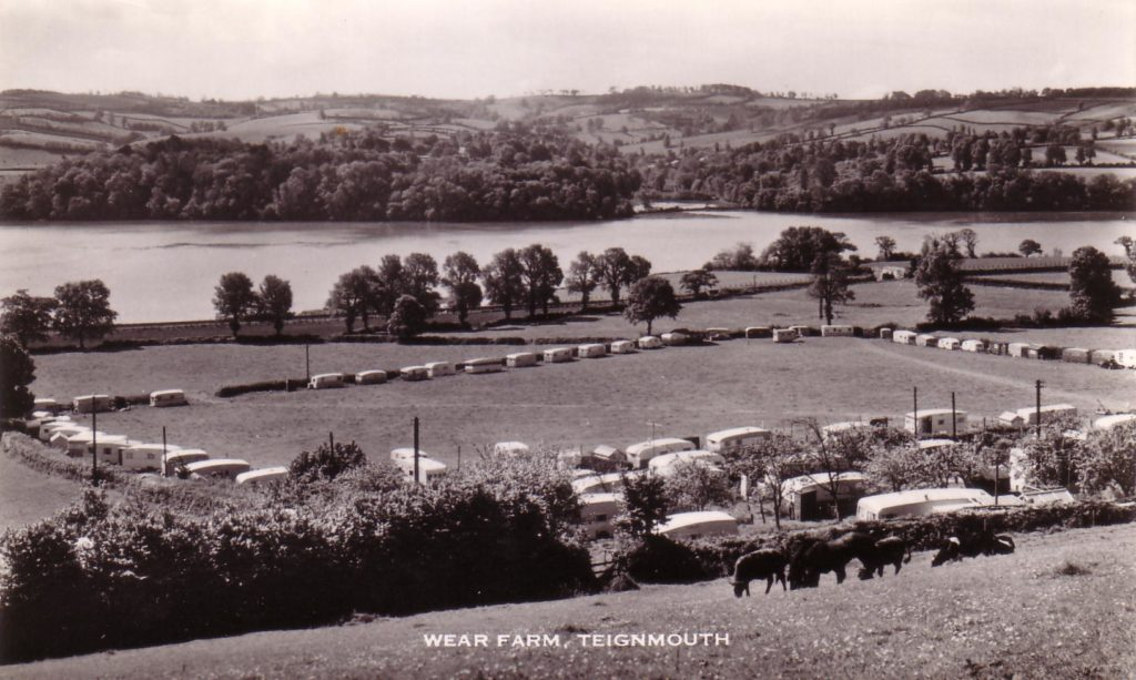 Black and white photograph of Wear Farm, Bishopsteignton