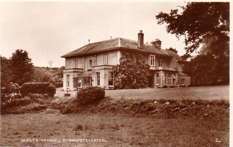 Sepia photograph of Murley Grange Bishopsteignton no.2