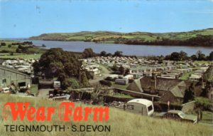 Colour photograph of Wear Farm, Bishopsteignton circa 1960?