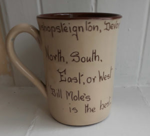 The Old Commercial Inn mug back