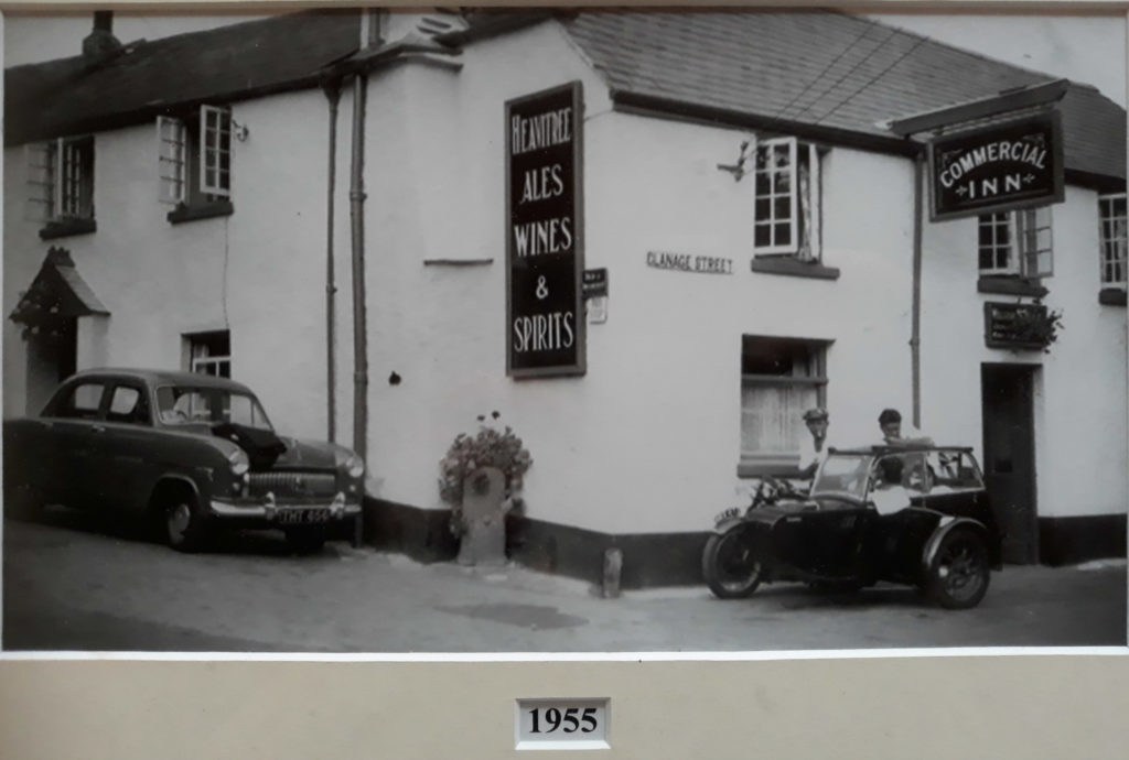 The Commercial Inn from West Street 1955