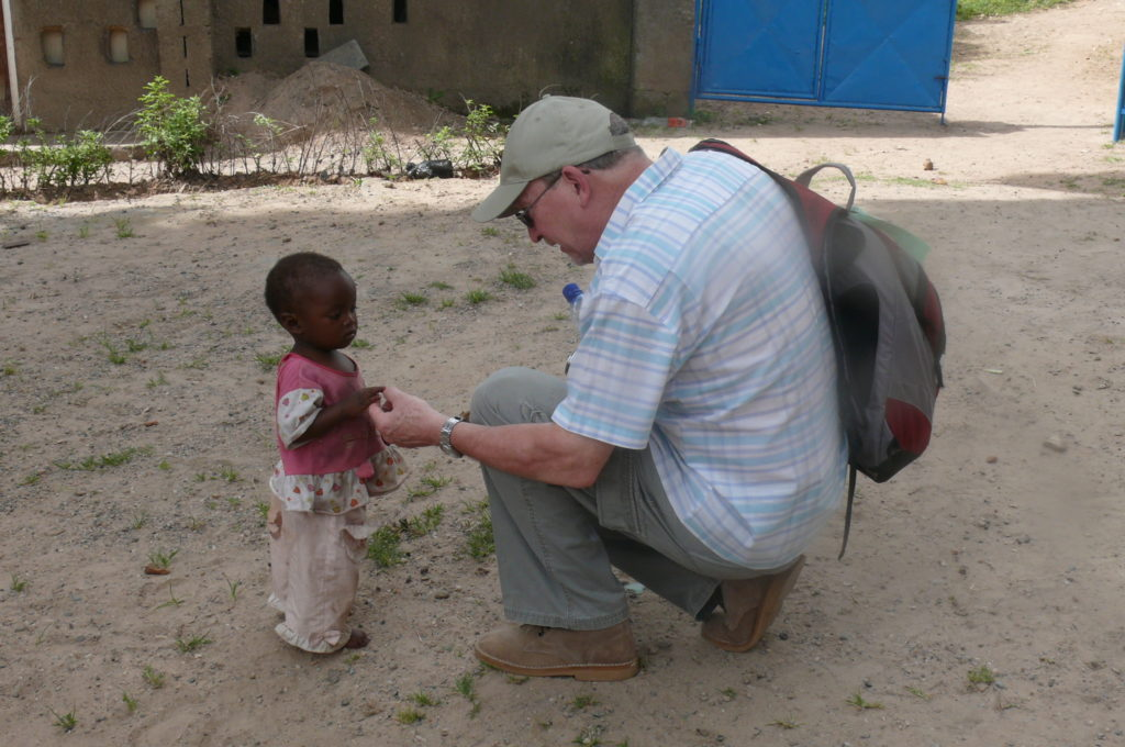 Peter Brunt in Zambia