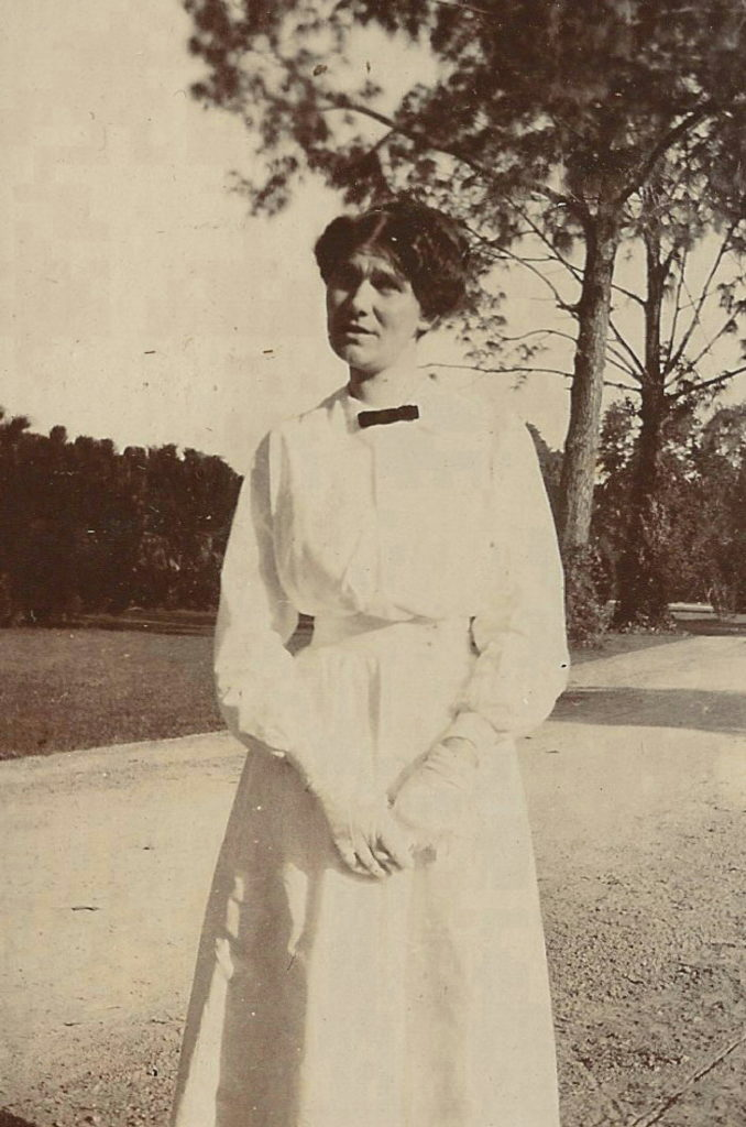 Alice French in India