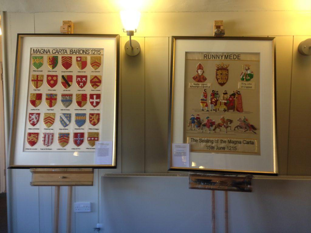 Magna Carta Embroidery