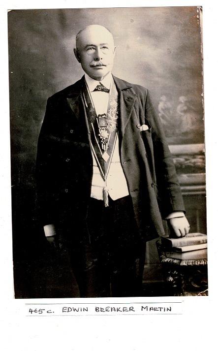 Photograph of Edwin Breaker Martin
