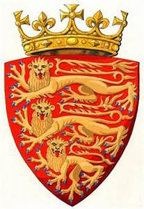 King John's coat of arms