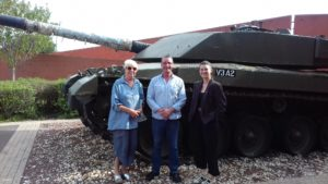 BH team at the Tank Museum 2019