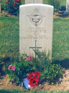 G Valentine Grave