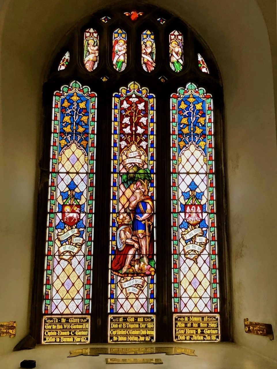 Gardner Family Memorial Window, Bishopsteignton Church