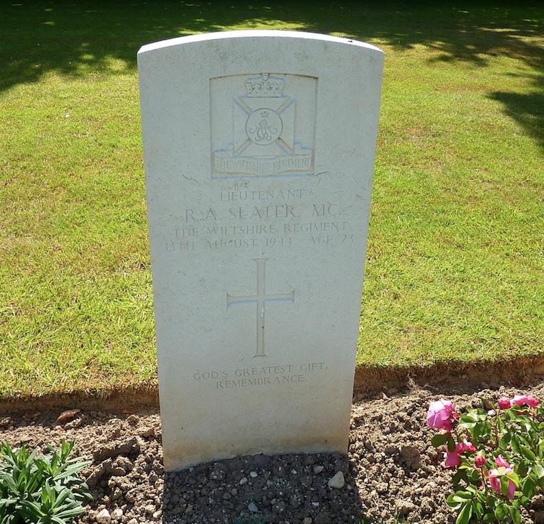R.A.Slater Headstone