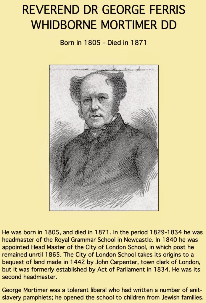 George Mortimer 1805-1871