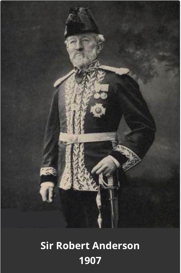 SIR ROBERT ANDERSON 1907