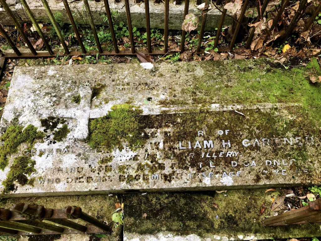 William Henry Gardner's Grave, Bishopsteignton Churchyard