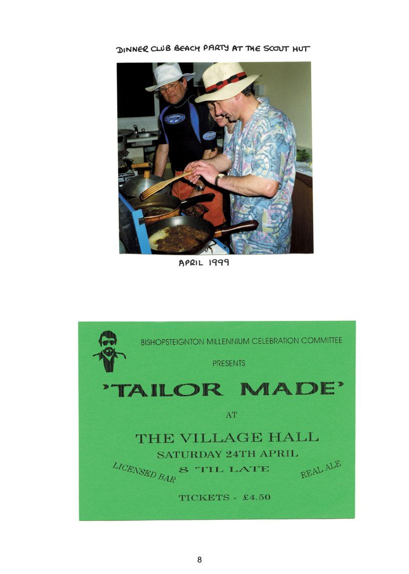 Bishopsteignton Millennium Book 10
