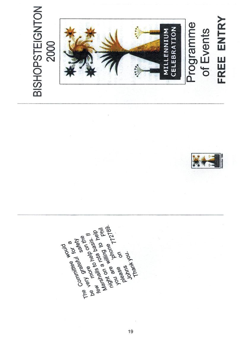 Bishopsteignton Millennium Book 21