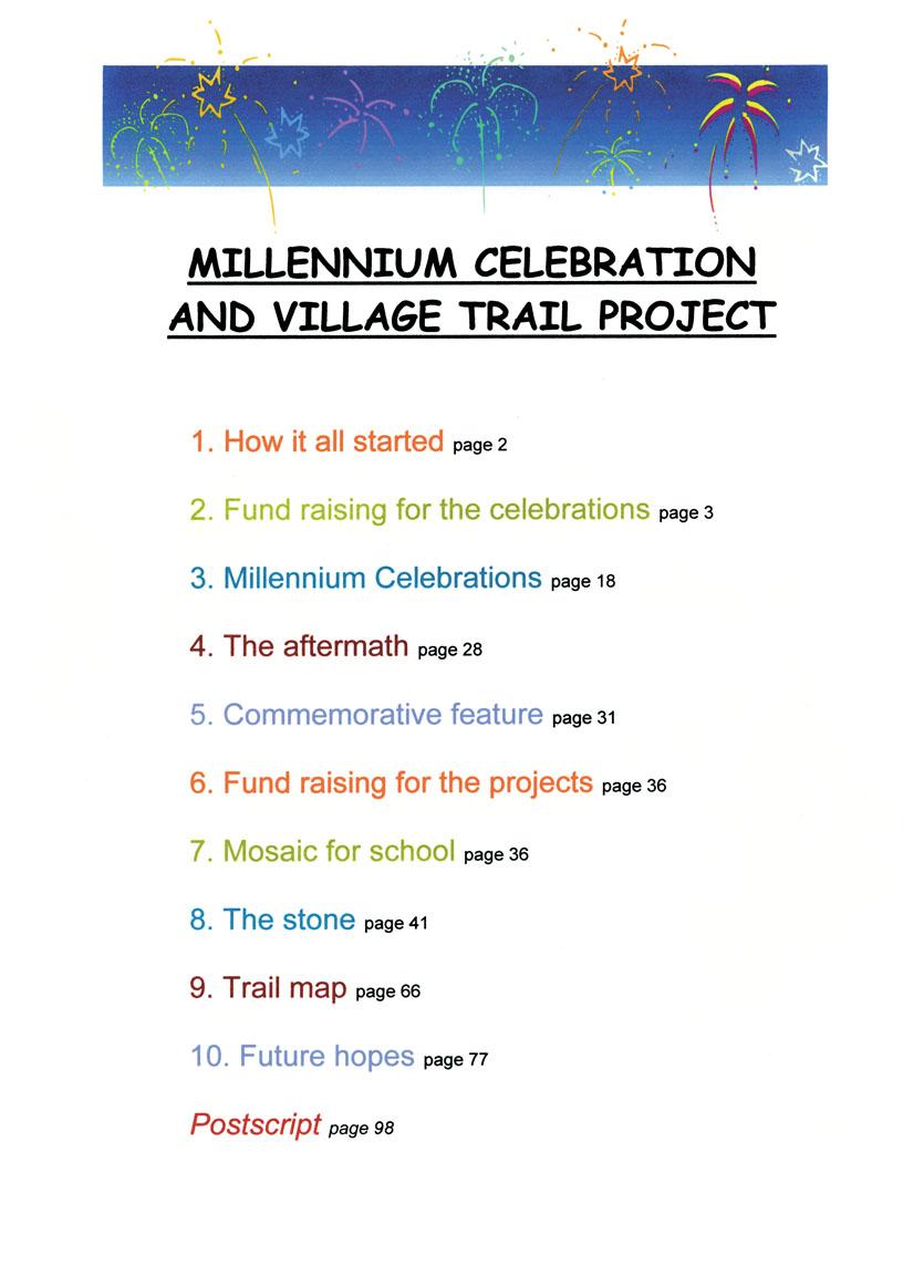 Bishopsteignton Millennium Book 3