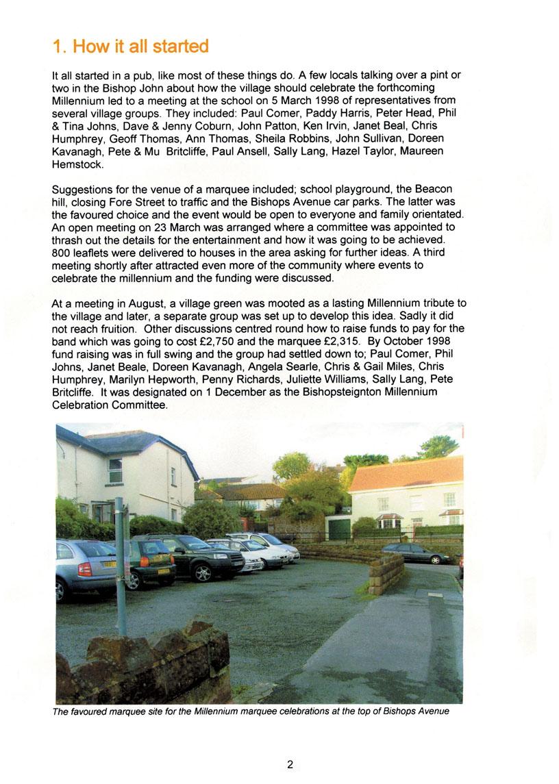Bishopsteignton Millennium Book 4