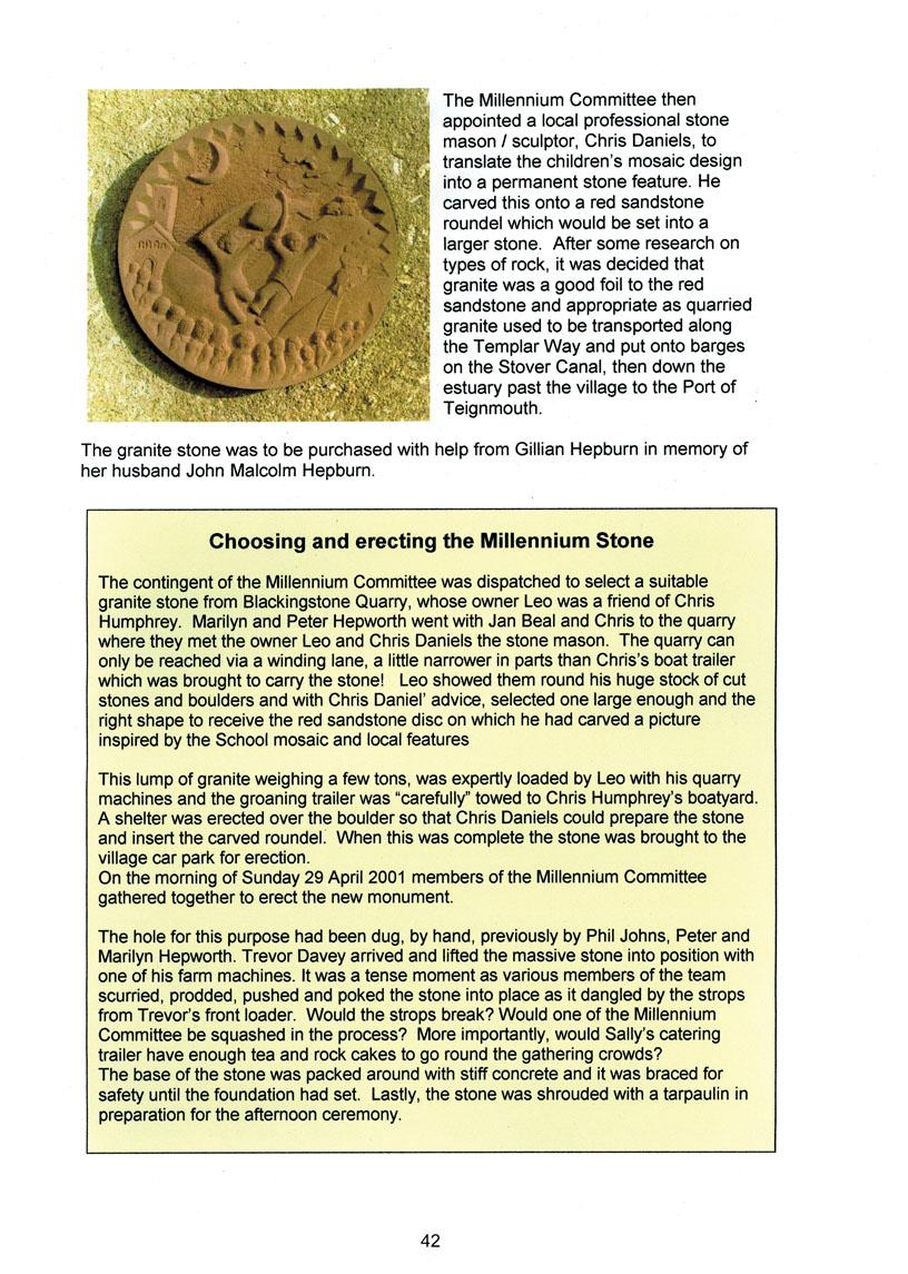 Bishopsteignton Millennium Book 44