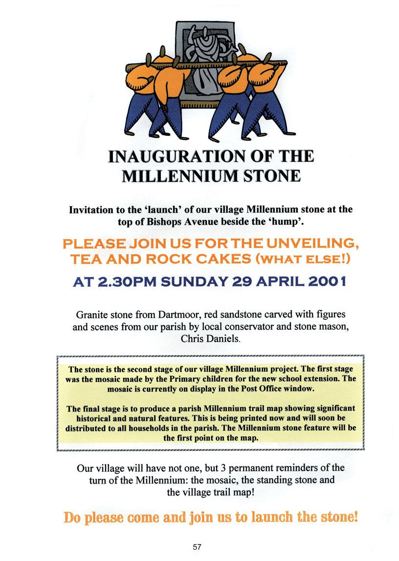 Bishopsteignton Millennium Book 59