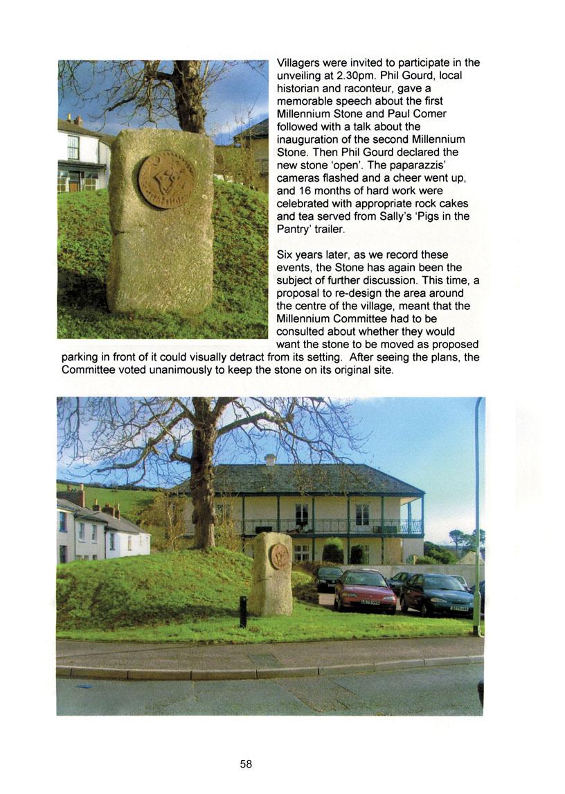 Bishopsteignton Millennium Book 60
