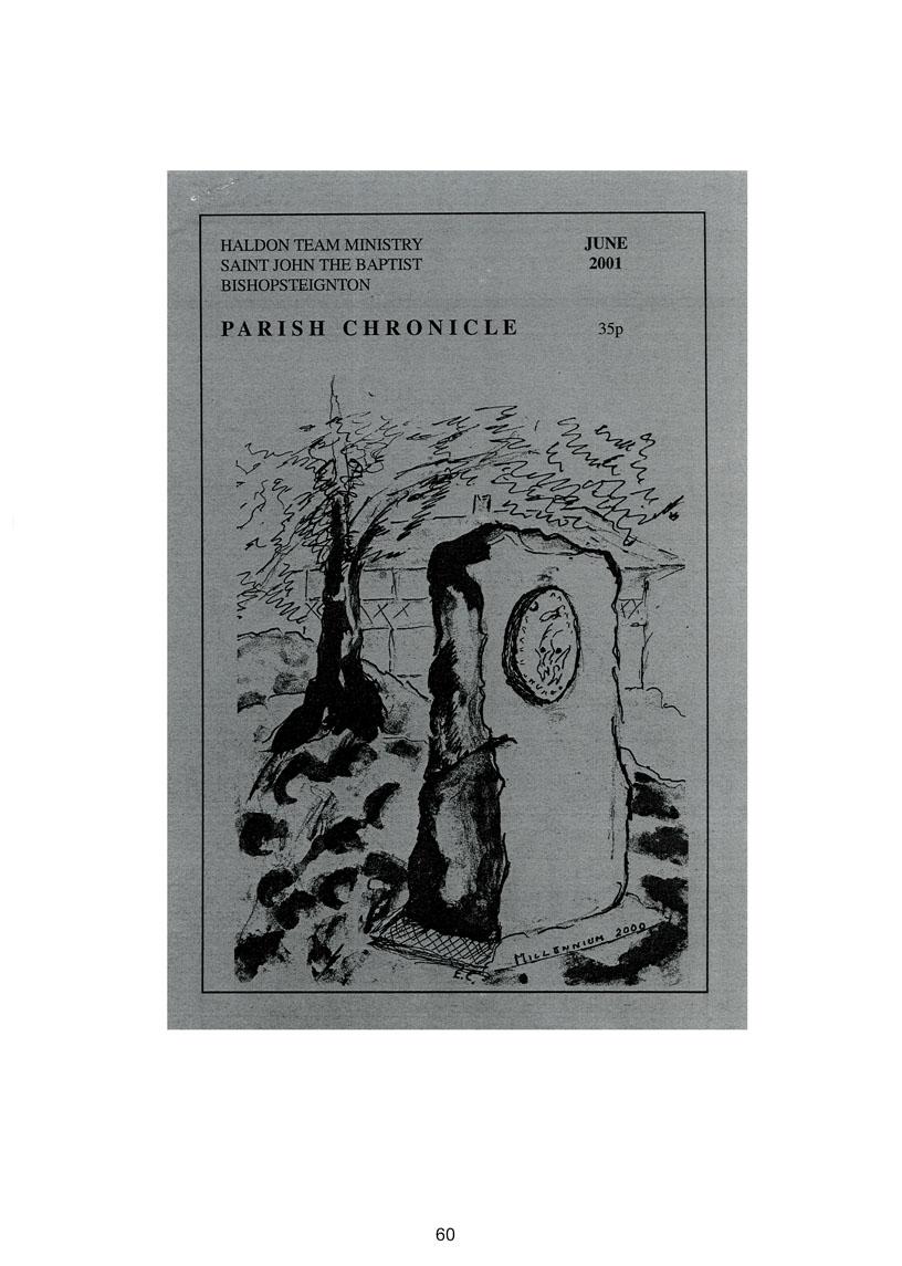 Bishopsteignton Millennium Book 62