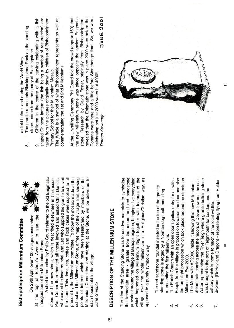 Bishopsteignton Millennium Book 63