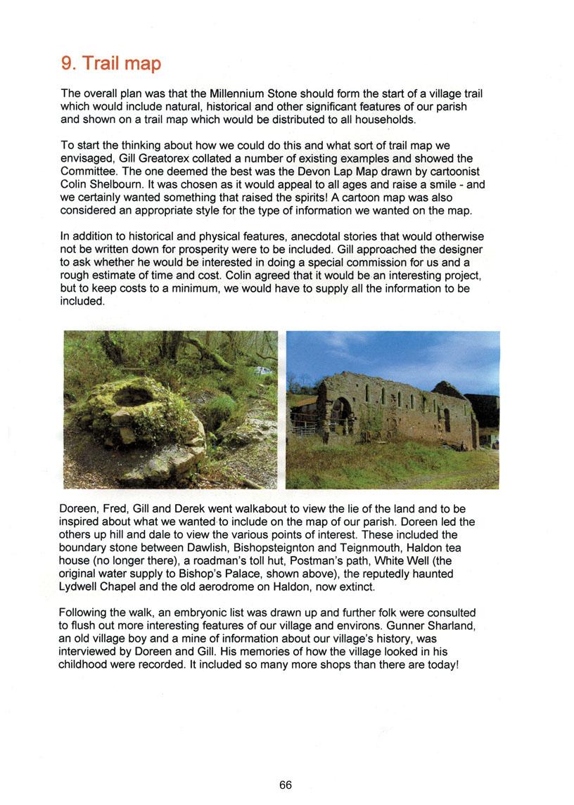 Bishopsteignton Millennium Book 68