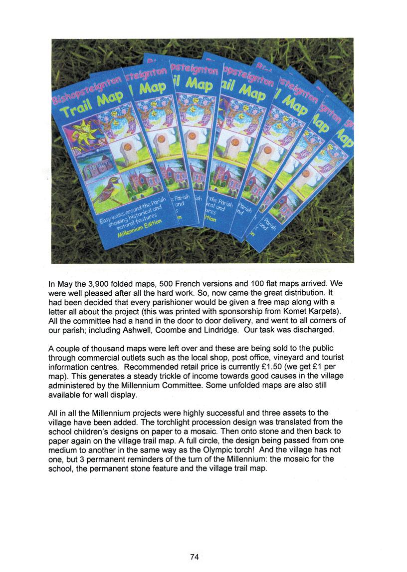 Bishopsteignton Millennium Book 76