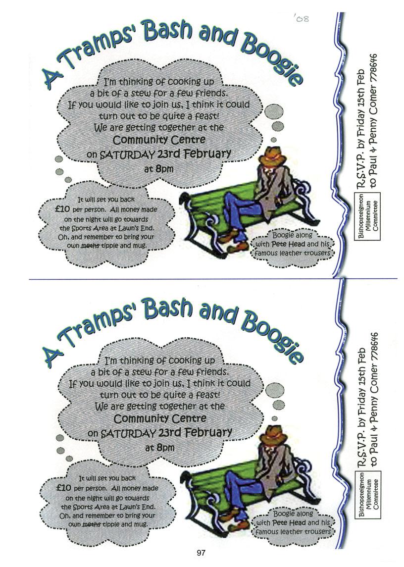Bishopsteignton Millennium Book 99