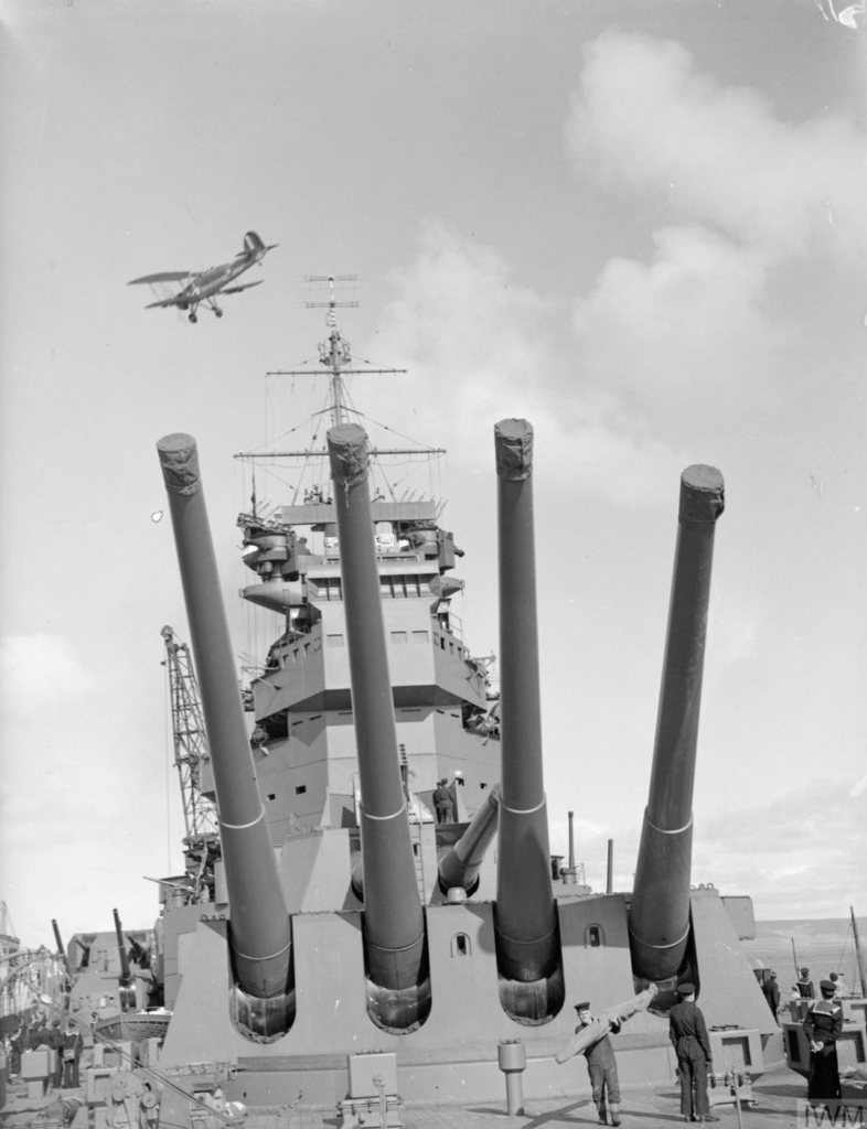 Fly By HMS Prince of Wales