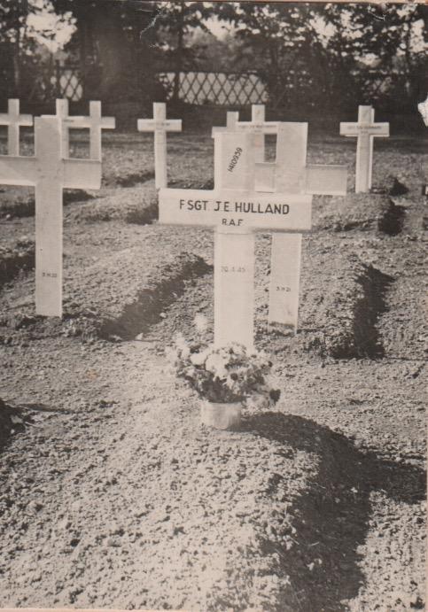 J Hulland grave