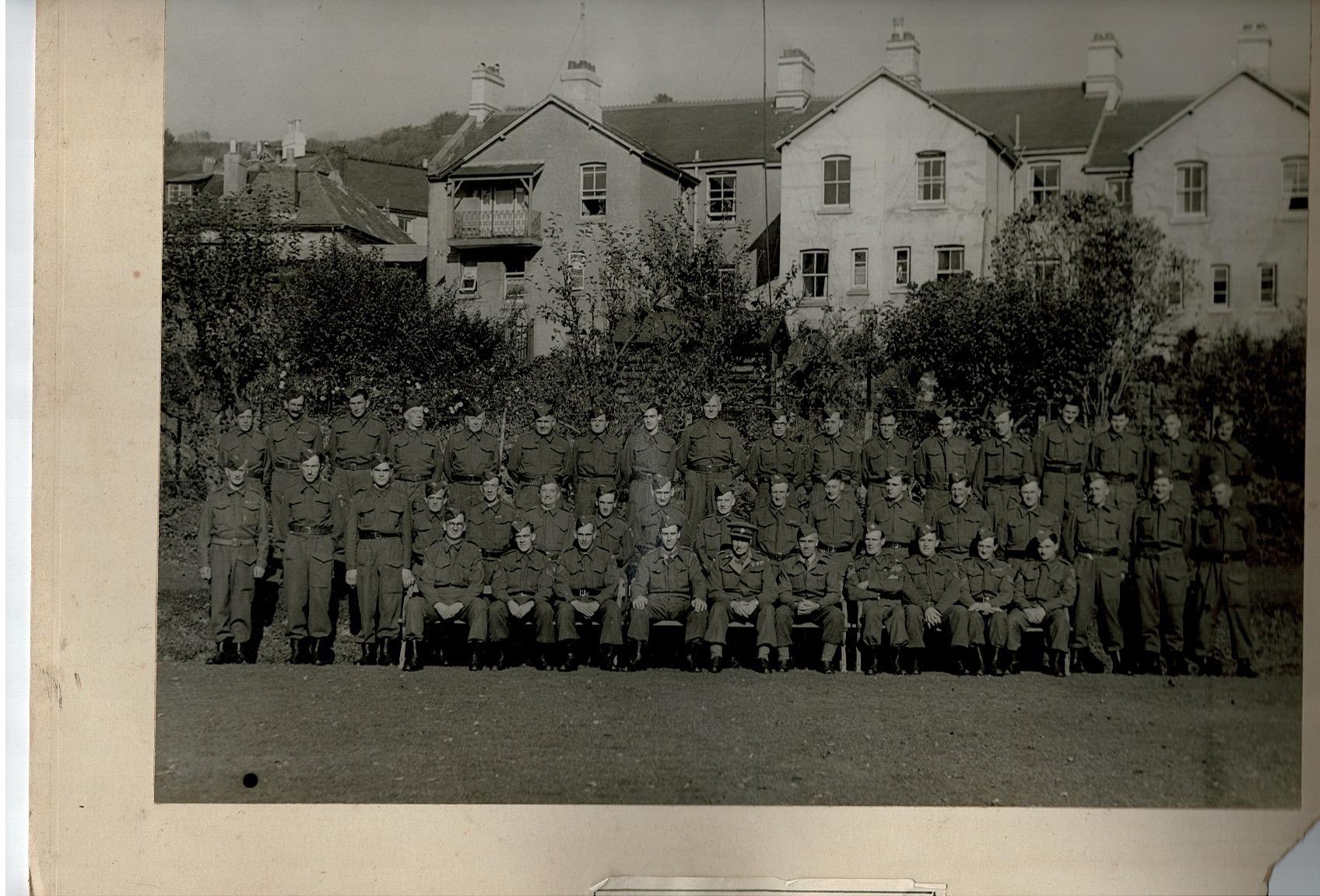 Bishopsteignton Homeguard 1942