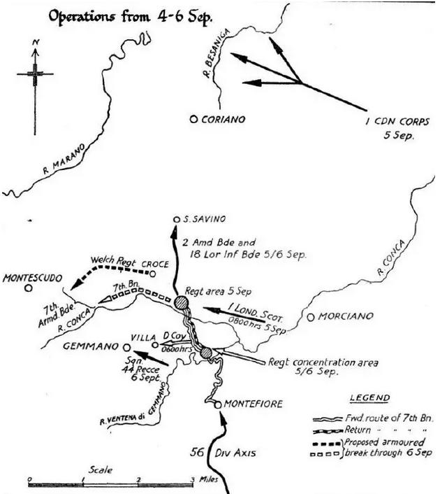 Montefiore Map