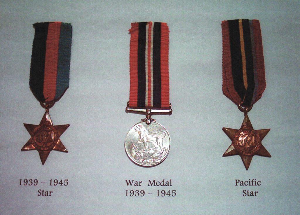Paget War Medals