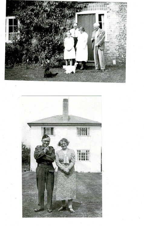 Wilfred, Gladys & Betty with Lord Addison 1937 & Wilfred & Gladys 1941, Home Guard 1