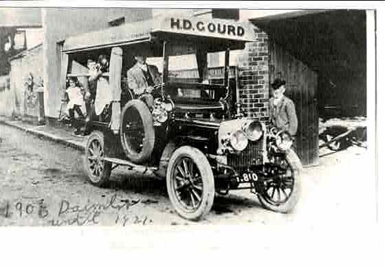 Gourd 1906 Daimler