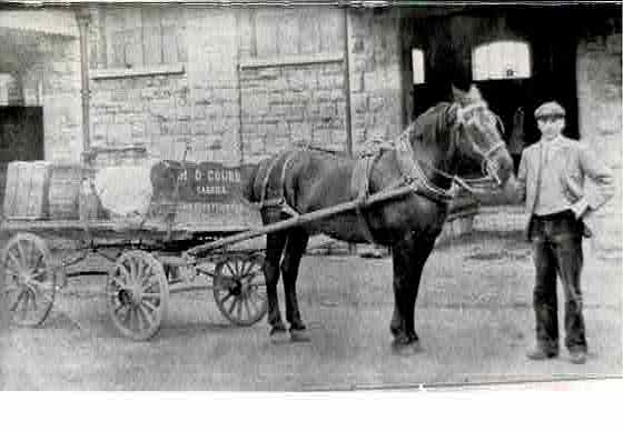 Gourd transport 1898