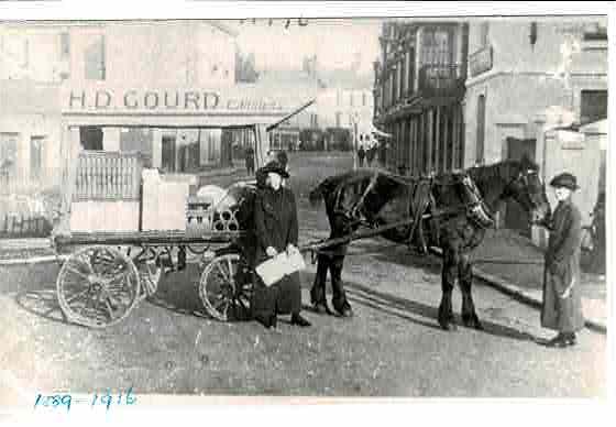 Gourd transport WWI