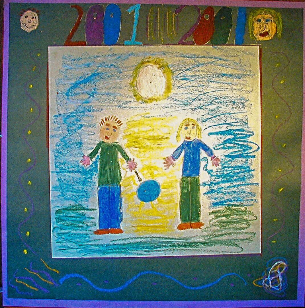 Millennium painting 6
