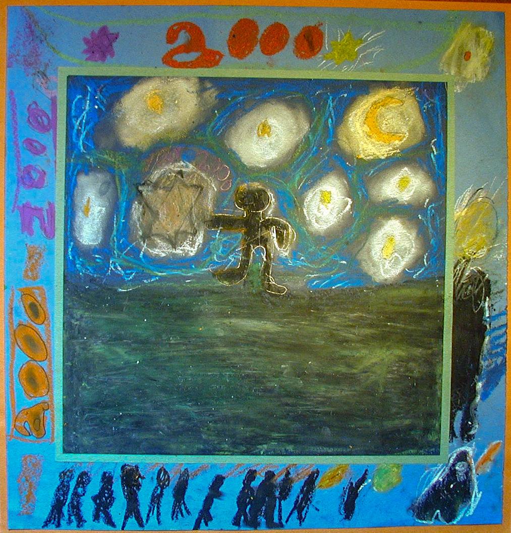 Millennium painting 4