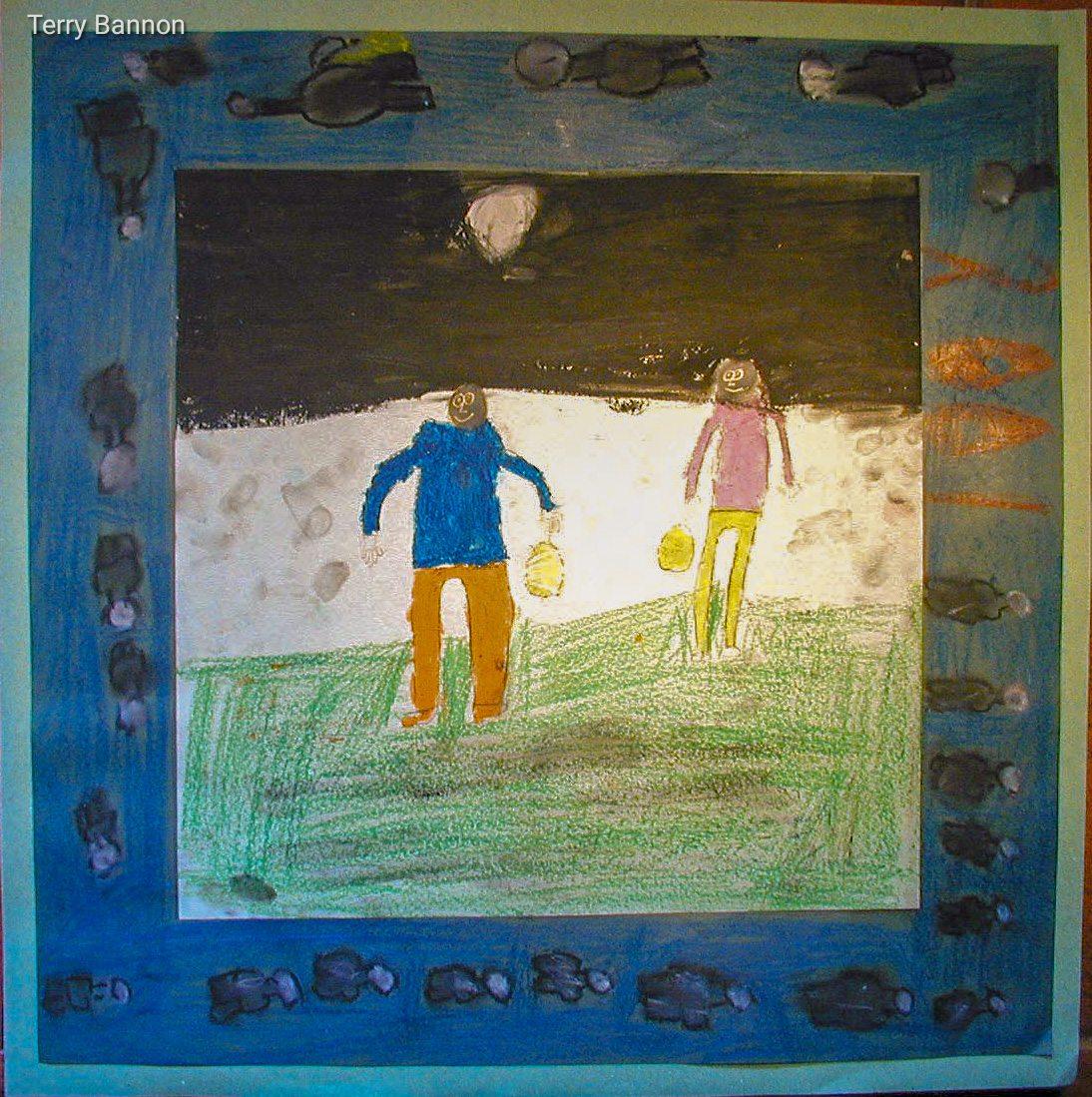 Millennium painting 5