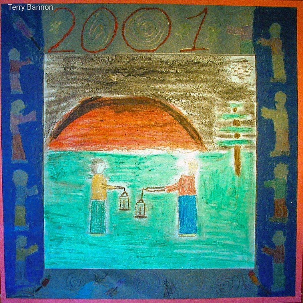 Millennium painting 7