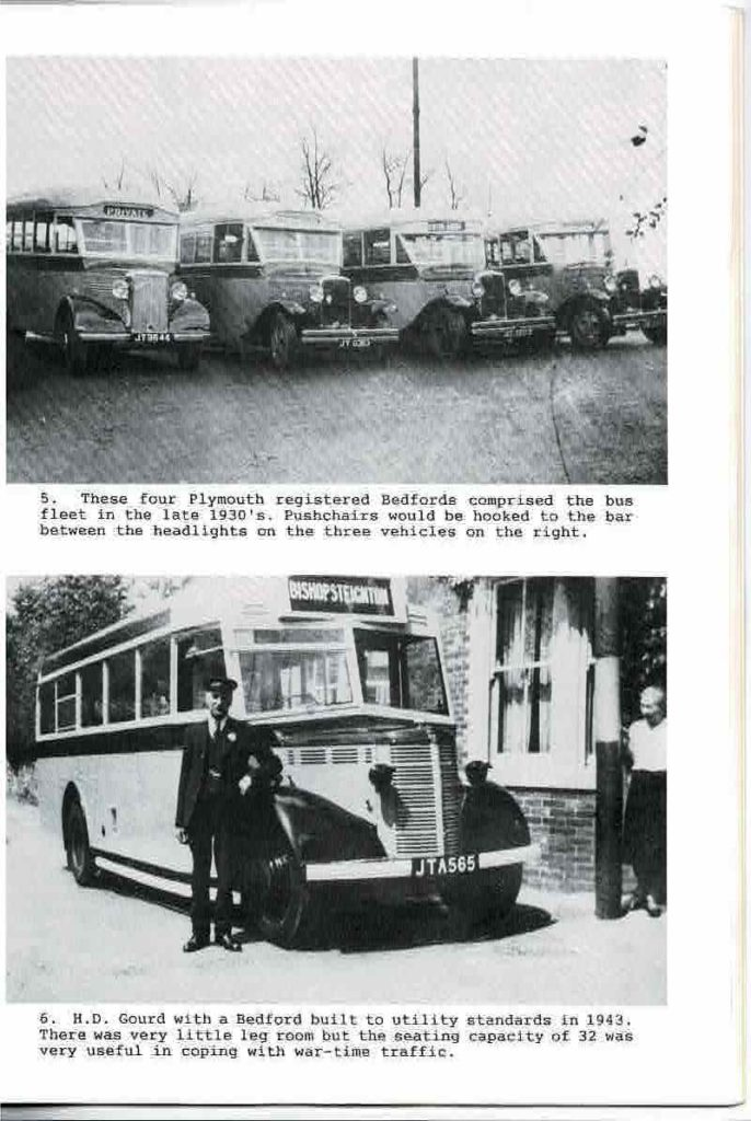 Gourd buses 1930s 1940s