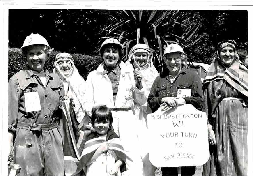 WI Church Fete entry 1974